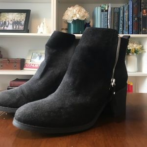 H&M Black Booties